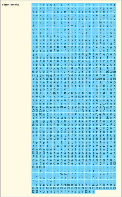 fontsquirrel.com - инструкция